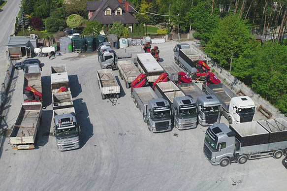 Nové žumpy vozový park